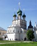 Церковь Иоанна Богослова. Государственный музей-заповедник Ростовский Кремль