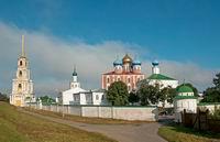 Рязань. Бывший Спасский монастырь, Успенский собор.1693-1699