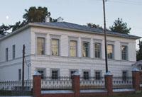 Основное здание Чердынского краеведческого музея им. А.С. Пушкина