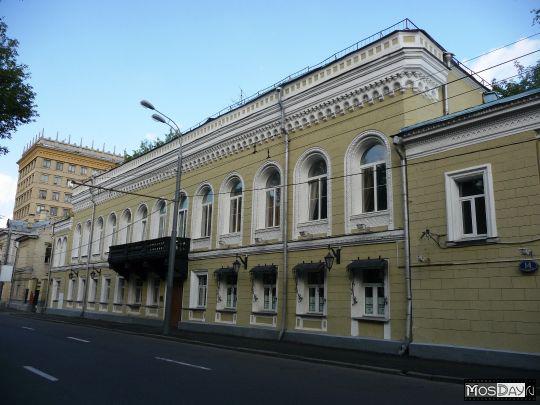 Здания и сооружения: Здание, где находится Музей шахмат