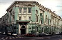 Фасад здания Зоологического музея МГУ