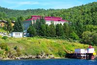Здание Байкальского музея Иркутского научного центра Сибирского отделения Российской академии наук
