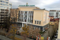 Здание Уральской государственной сельскохозяйственной академии