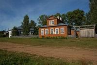 Дом Васнецовых в усадьбе Рябово Кировской области. Фото А.В.Слезкина. 2006