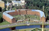 Здания и сооружения: Вид сверху