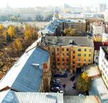 Двор дома, где  находится Музей-квартира М.Н. Мордасовой. Вид сверху