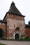 Башня Никольская, где расположен музей Смоленский лен