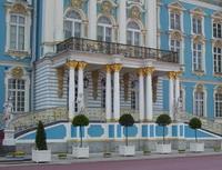 Б. Растрелли. Екатерининский дворец, середина  XVIII века, Пушкин