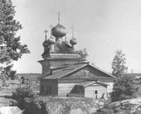 Церковь Петра и Павла, с. Вирма Беломорский район. Б.Бойцов