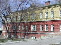 Фасад чувашской школы