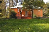 Главный усадебный дом со стороны веранды