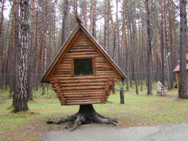Здания и сооружения: Избушка Бабы-Яги