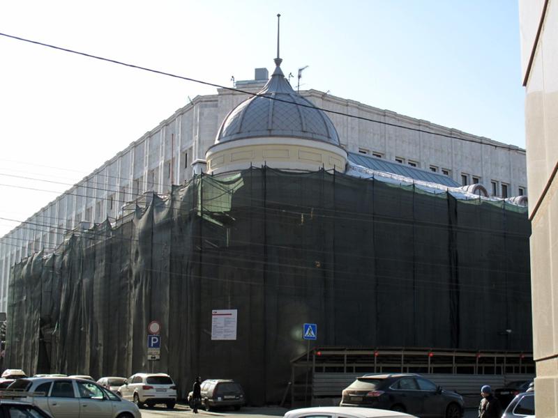 Здания и сооружения: Воздвиженка, 9
