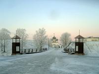 Вход в Белозерский кремль