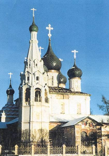 Здания и сооружения: Церковь Ильи Пророка