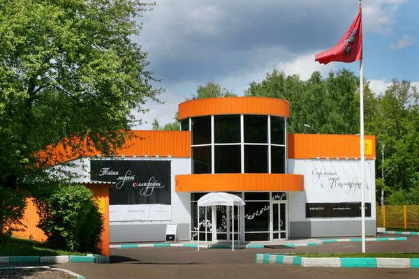 Здания и сооружения: Современный музей каллиграфии.Центральный вход