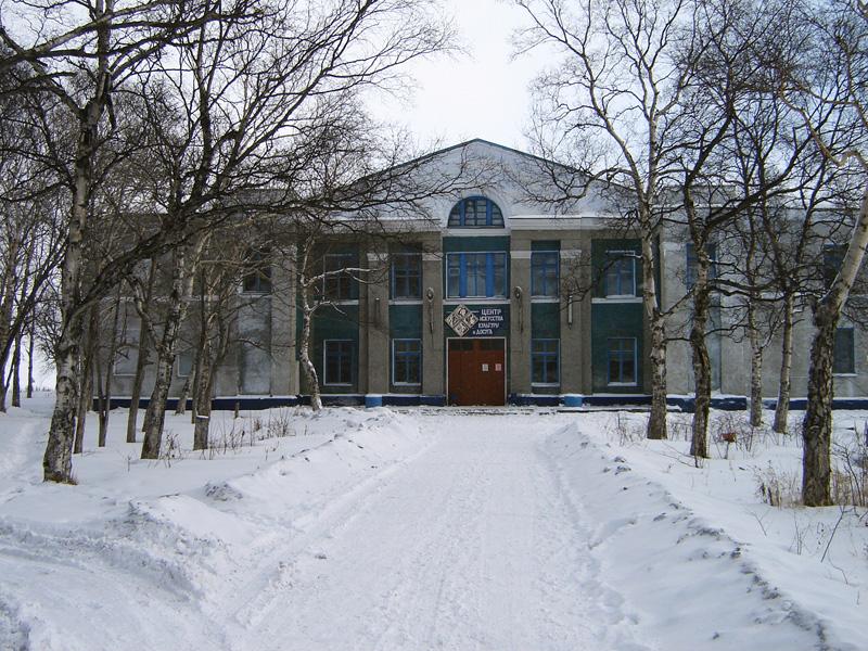 Здания и сооружения: Здание Центра искусства, культуры и досуга, где находится Макаровский краеведческий музей