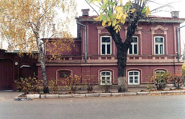 Здания и сооружения: Мемориальный музей Бориса  Пастернака в Чистополе