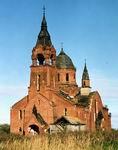 Введенская церковь в с. Пет. 1912-1913 гг. Фото А.В.Слезкина