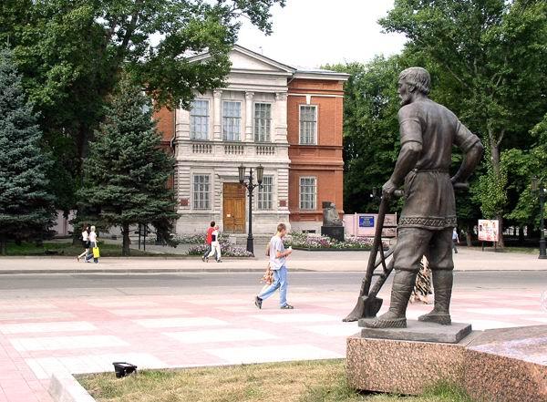 Здания и сооружения: Радищевский музей. Современный вид