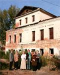 Состояние здания будущего музея Л.Н. Толстого в Казани, 2005 г.