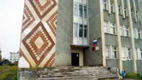 Здание, где находится Тигильский районный краеведческий музей (2 этаж)