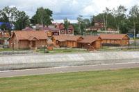 Музейно-этнографический комплекс «Мордовское подворье» на берегу реки Саранки в г. Саранск