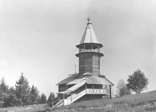 Здания и сооружения: Часовня трёх святителей дер.Кавгора. П. Бойцов