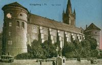 Здания и сооружения: Королевский замок Кенигсберга