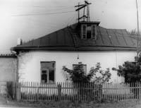 Здание бывшего РУС, где помещается музей