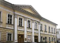 Фасад Российской государственной библиотеки искусств
