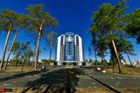 Здание, где находится Музейно-выставочный центр города Когалыма