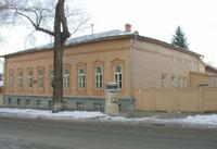 Фасад Музея Метеорологическая станция Симбирска