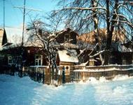 Зима. Домик