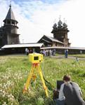 Лазерное сканирование Преображенской церкви острова Кижи
