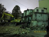 Снос исторического здания на Покровке