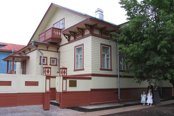 Здания и сооружения: Малые Корелы открыли  Усадьбу М.Т. Куницыной