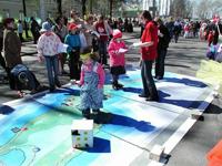 Площадка музея-заповедника Кижи на детском празднике  в Петрозаводске