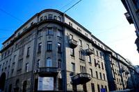 Здание, где находится Галерея на Солянке