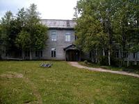 Здание музея в пос. Курба Ленинградской области