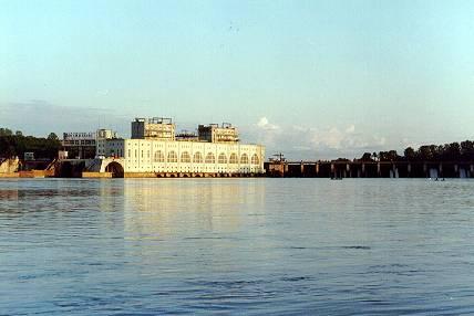 Здания и сооружения: Волховская ГЭС. 1926г.