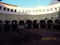 Внутренний двор Кругового депо