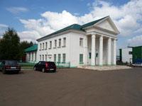 Здание, где находится Калтасинский районный историко-краеведческий музей