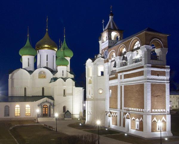 Здания и сооружения: Спасо-Евфимиевский монастырь
