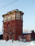 Водонапорная башня, построенная в 1901 году по проекту архитектора Юрия Дидерикса