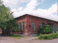 Здание Напольной школы (г. Алапаевск)