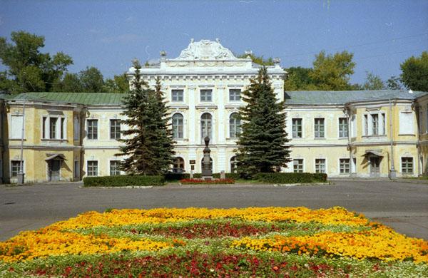 Здания и сооружения: Тверской императорский дворец. Главный фасад