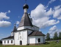 Церковь Мартиниана ансамбля Ферапонтова монастыря.