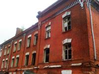 Исторические казармы в Сокольниках до сноса