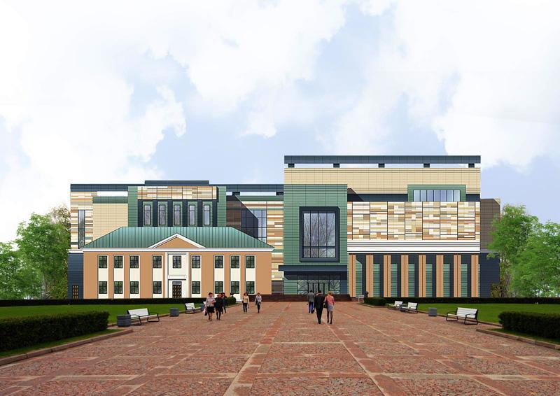 Здания и сооружения: Проект фасада музея В.С.Черномырдина